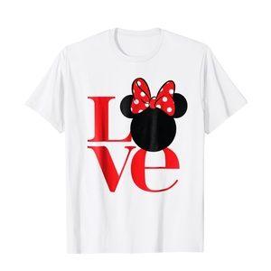 Love Mickey Ear Design Unisex T-Shirt
